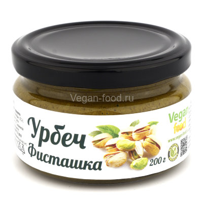 Урбеч фисташковый Vegan food, 200 г